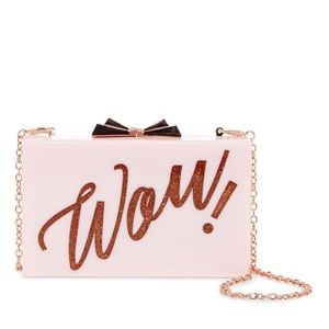 New Ted Baker Stecy 'Wow' Box Clutch